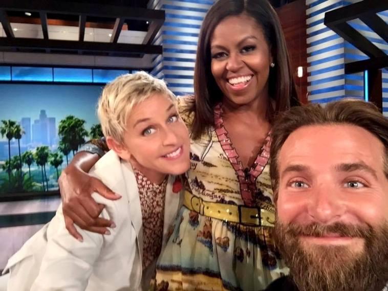 Michelle Obama debuts as Ellen DeGeneres' co-host